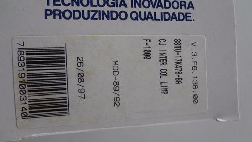 chave limpador parabrisa f1000 89/90/91/92 carto original