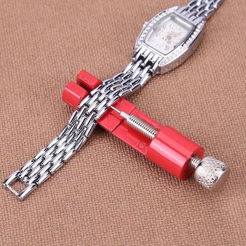 chave metal tira pino ajustar pulseira 32mm +3 pontas extras