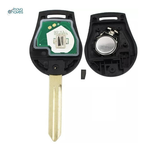chave nissan livina p/ alarme original completa