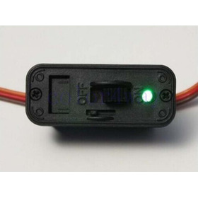 Chave On/off (grande) Para Aeros Glow/gas - Padrão Futaba