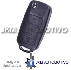 _chave p/ fiat palio azul com placa chip e bateria
