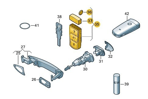 chave receptora
