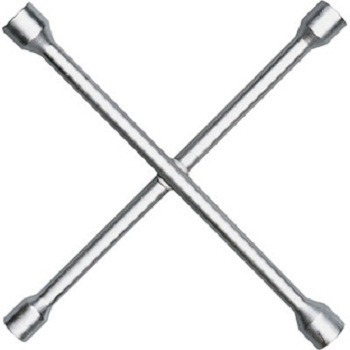 chave roda cruz 4 bocas 17x19x21x23mm profissional aço