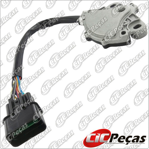 chave seletora câmbio automático pajero sport 3.0 v6 (98/06)