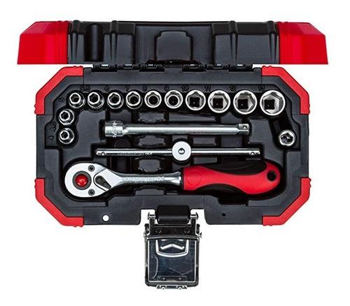 chave soquete jogo sextavado 1/4 16 peças r49003016
