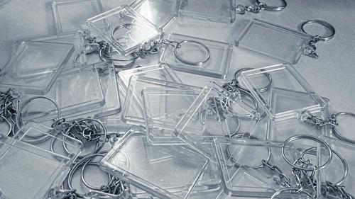 chaveiro acrilico para foto kit com 500peças