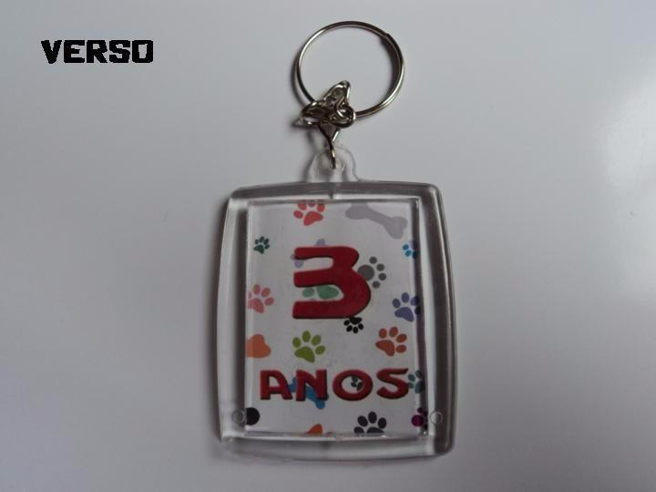 Chaveiro Acrílico Personalizado- 50 Unidades - R  45,49 em Mercado Livre d0cb236ca7
