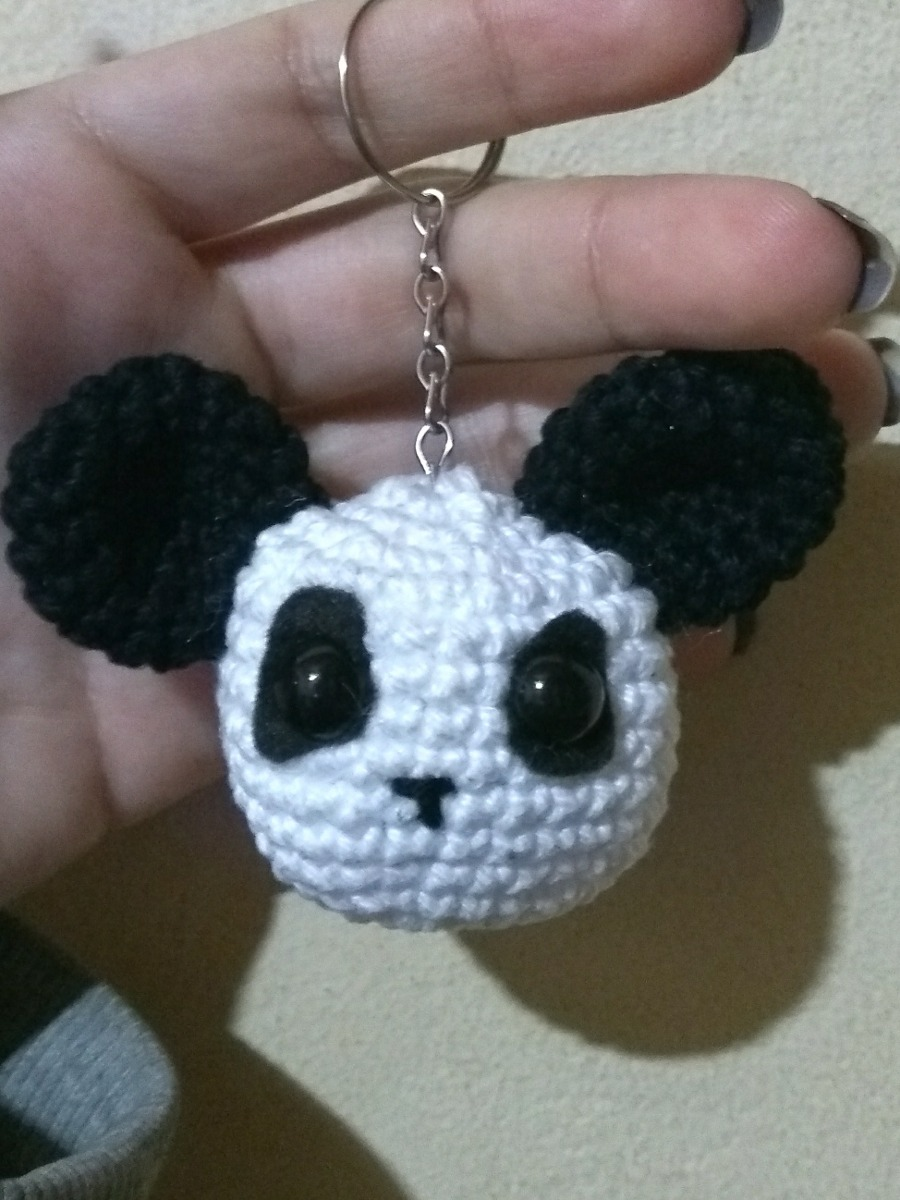 HÄKELN KIT AMIGURUMI häkeln Panda Puppe für Anfänger Handstricken ... | 1200x900