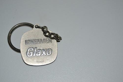 chaveiro antigo glaxo
