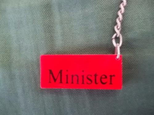 chaveiro antigo minister de coleção