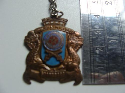 chaveiro antigo - policia militar - guanabara