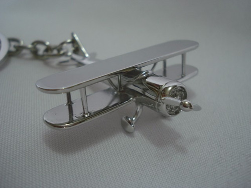 chaveiro aviao antigo com hélice rf 4489