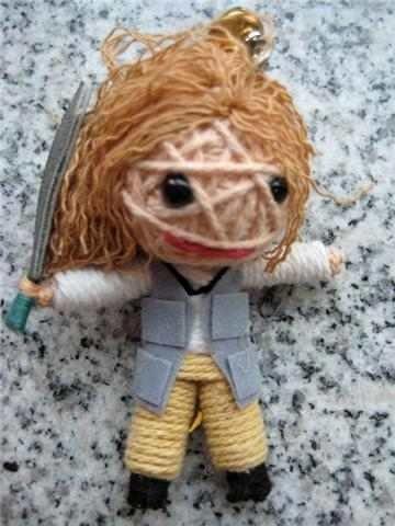 chaveiro barbante voodoo - avatar doutora grace augustine