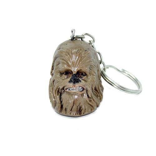 chaveiro chewbacca star wars em resina