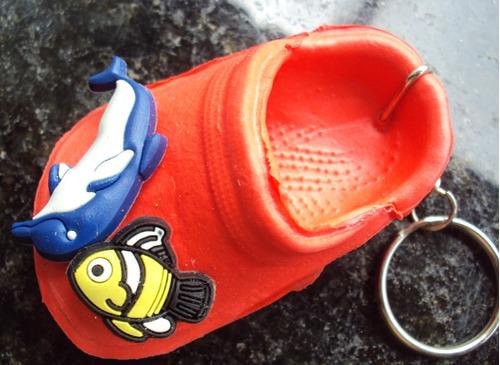 chaveiro - chinelo/sandália em plástico  - p33