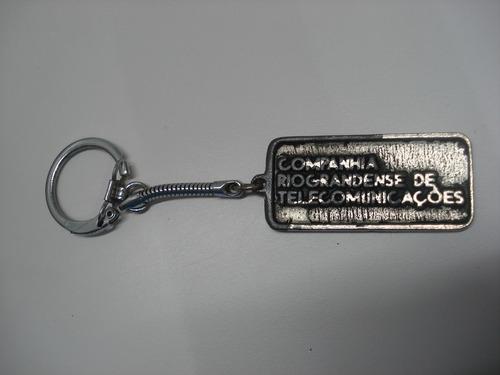 chaveiro companhia riograndense de telecomunicações crt(251)