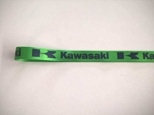 chaveiro cordão kawasaki bom para ninja zx6 zx10, zx11, h2