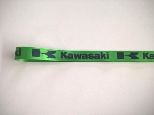 chaveiro cordão logo kawasaki bom para z750 z800 z900 z1000.