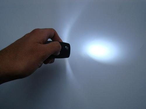 chaveiro dá choque c/lanterna e leser