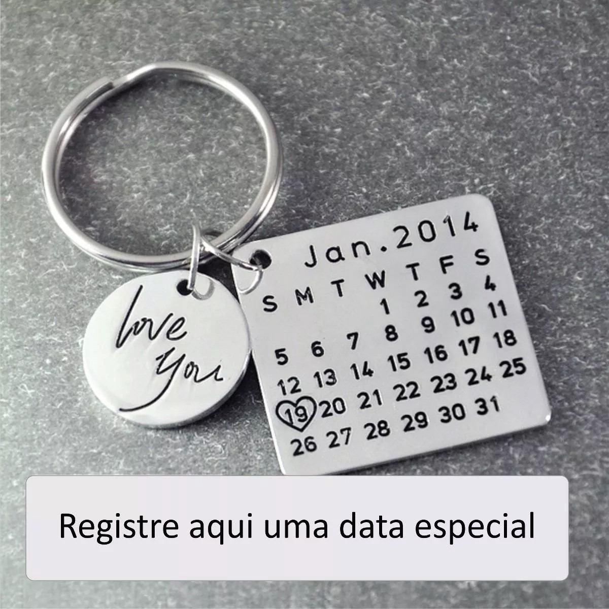 Chaveiro Data Especial 7bc5be2e97097