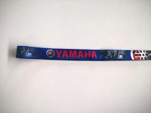 chaveiro de cordão logo da marca yamaha, bom para r1, r3, r6