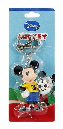 chaveiro disney mickey mouse seleção brasileira original