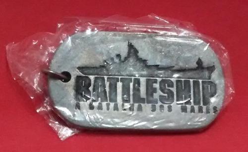 chaveiro do filme battleship a batalha dos mares memorabilia