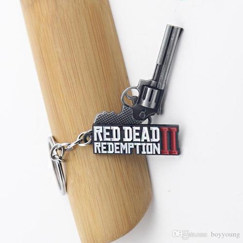 chaveiro do jogo  revolver red dead redemption 2