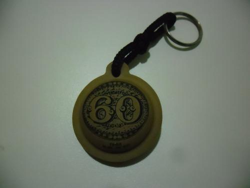 chaveiro do selo olho de boi - correios - cultura filatelia