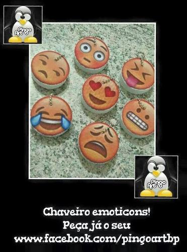 chaveiro emoticon whatsapp