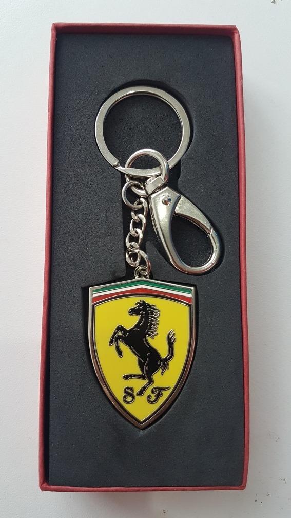 deb887fd371a8 Chaveiro Ferrari Emblema - Logo Original Em Metal - R  60