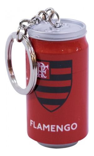 chaveiro forma de lata com caneta flamengo - yfkl100-5-b f1b