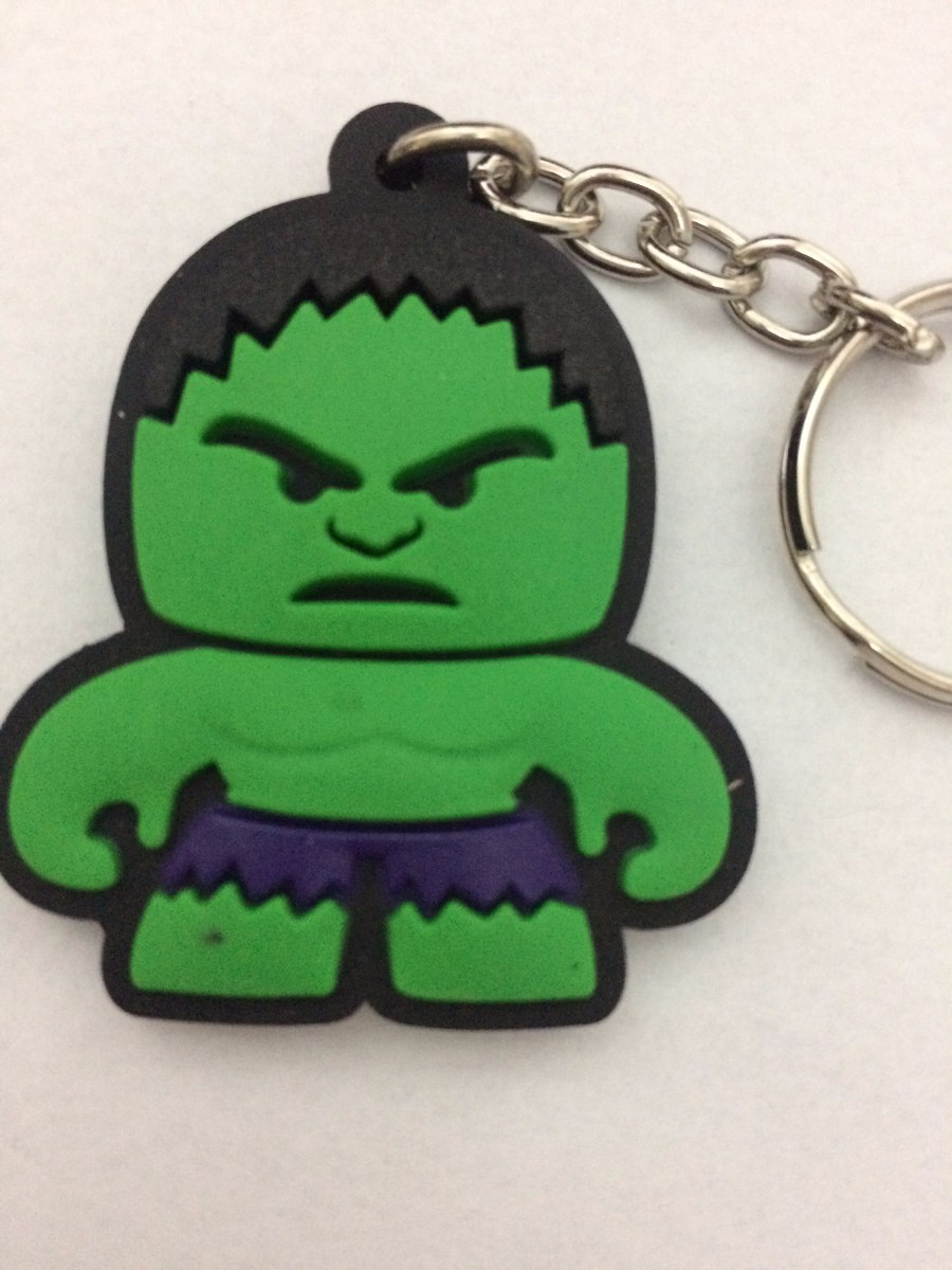 Incrivel Hulck Simple chaveiro incrivel hulk vingadores super heroes importado - r$ 10