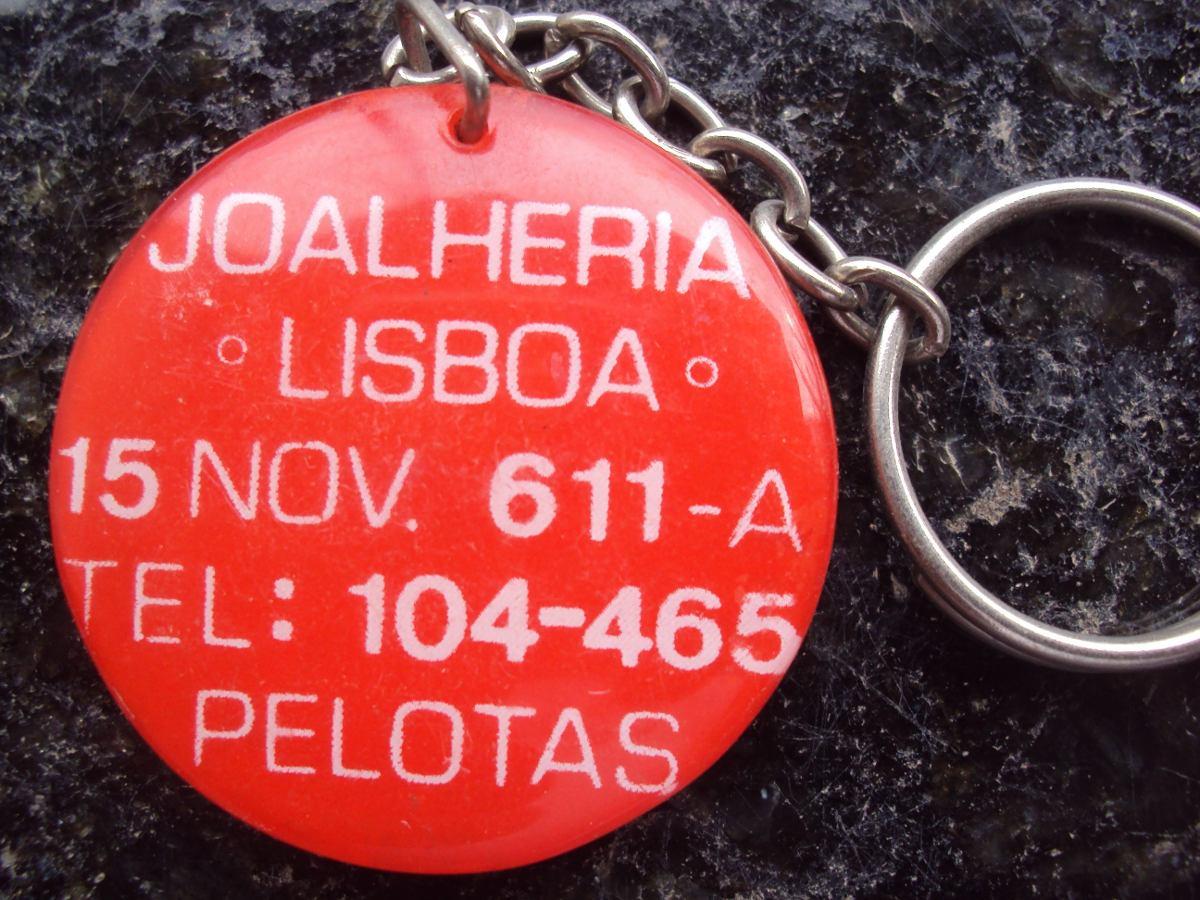 Chaveiro Joalheria Lisboa - Pelotas - Rs - P24 - R  16,55 em Mercado ... 22a2016da4
