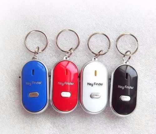 chaveiro localizador chaves anti perda assovio luz keyfinder
