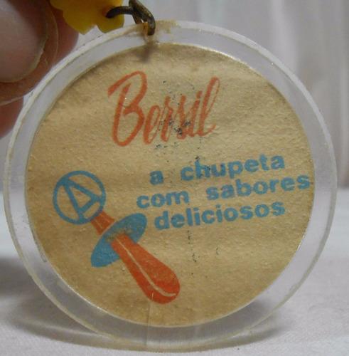 chaveiro lote antigos pernalonga 1976 / peter pan bersil