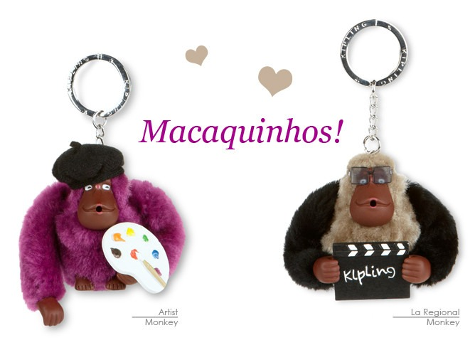54bfc03c8 Mlb chaveiro macaco kipling original envio em hrs jpg 668x492 Chaveiro macaco  kipling verde