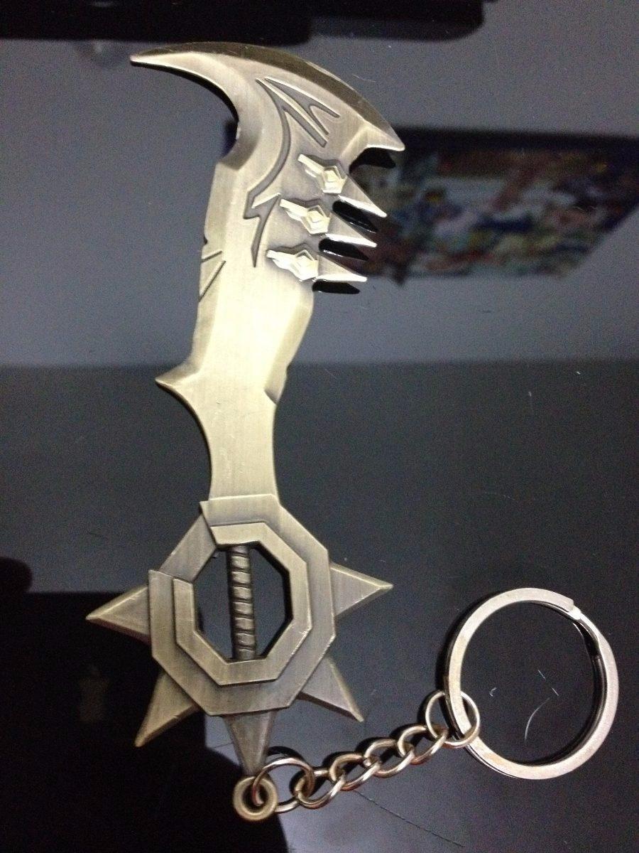 Chaveiro Machado Draven League Of Legends Lol - R  9,49 em Mercado Livre cd7693fbe5