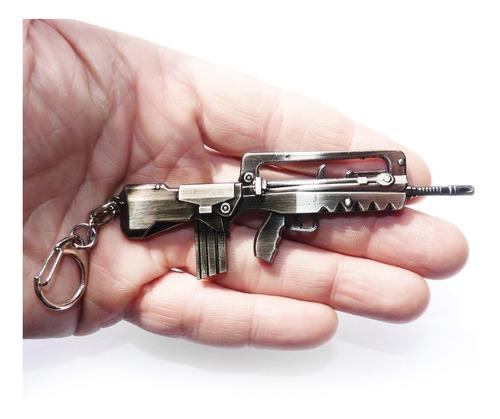 chaveiro metralhadora modelo 1