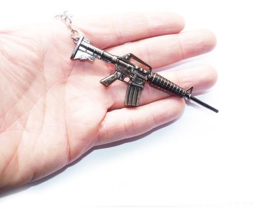 chaveiro metralhadora modelo 3