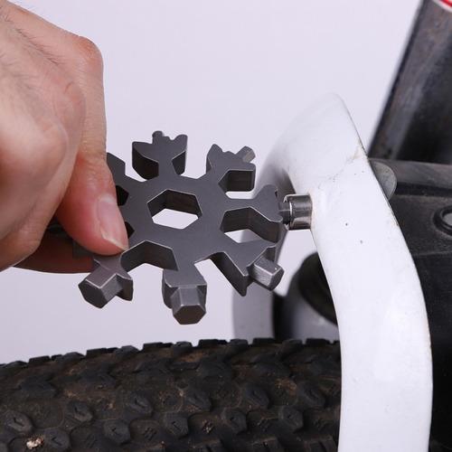 chaveiro multi tool ferramentas edc fenda philipis bicicleta