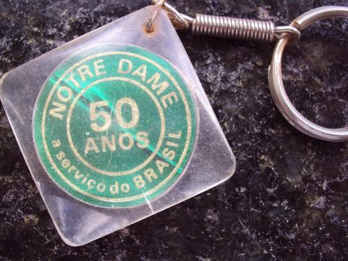 chaveiro notre dame - 50 anos - 1973 - passo fundo - p14