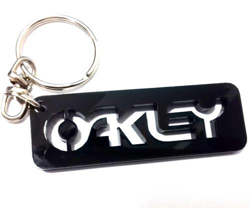 chaveiro oakley em acrilico  5mm