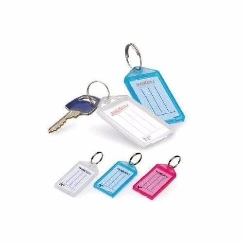 chaveiro organizador identificador de chaves caixa c/ 100 un