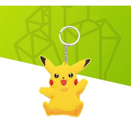 chaveiro pokémon - pikachu pvc 7cm