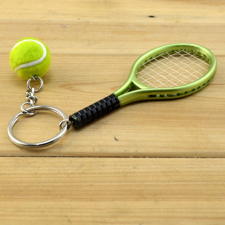 b54a49b6c44 Chaveiro Raquete+bola Tenis Wilson
