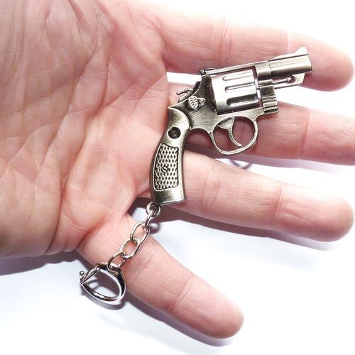 chaveiro revólver