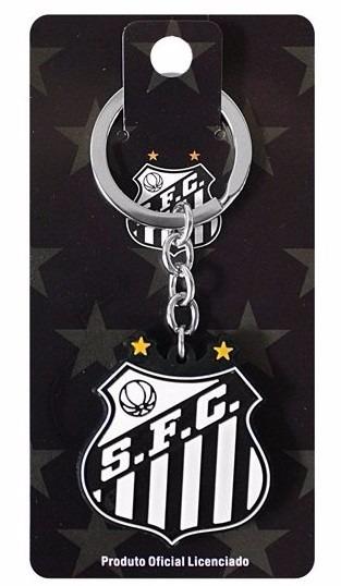 Chaveiro Santos Futebol Clube Escudo - R  16 f6c0da872593b