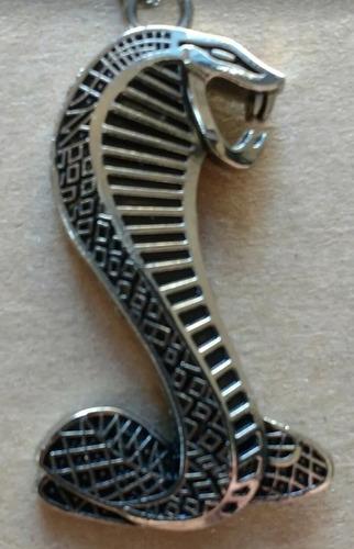 chaveiro shelby cobra mustang em metal de alta qualidade.