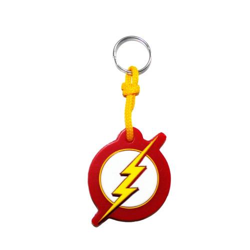 chaveiro the flash emborrachado